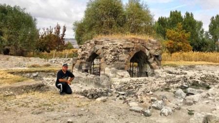Talha Uğurluel Kayseri Keykubadiye Kazıları'nı inceledi