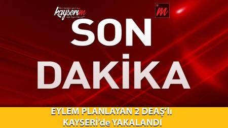 Eylem Planlayan 2 Deaş'lı Kayseri'de Yakalandı