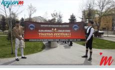 14. Uluslararası Liseler Arası Tiyatro Festivali Başladı