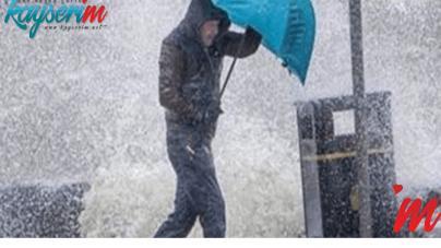 Meterolojiden Fırtına Uyarısı