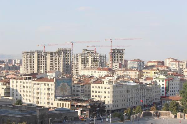 Kayserideki Binaların Yüzde 40ı Riskli