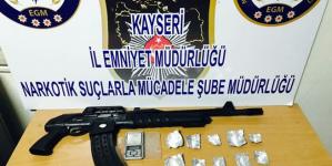 Kayseride 1 Ayda Uyuşturucuya 31 Tutuklama