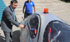 Voltacar ERÜ Rektörü Çalışa Tanıtıldı