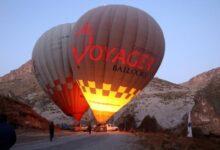 Photo of Kayseri'de ilk kez sıcak hava balonu havalandı
