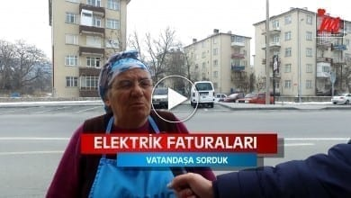 Photo of Vatandaşa Elektrik Faturalarını Sorduk.. (VİDEO HABER)