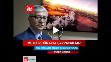 Photo of Meteor Dünyaya Çarpacak mı? (VİDEO HABER)