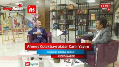 Photo of Bayram Özel Programı Konuğu Ahmet Çolakbayrakdar