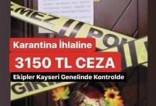 Photo of Karantina İhlaline 3150 TL Ceza